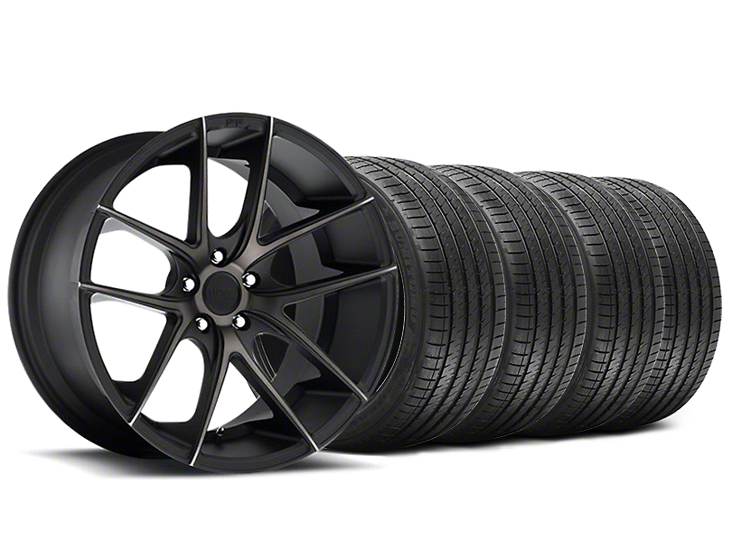 Niche Targa Black Wheel & Sumitomo Maximum Performance HTR Z5 Tire Kit - 20x8.5 (05-14 All)