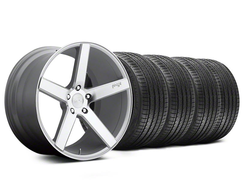 Niche Milan Silver Wheel & Sumitomo Tire Kit - 20x8.5 (05-14 All)