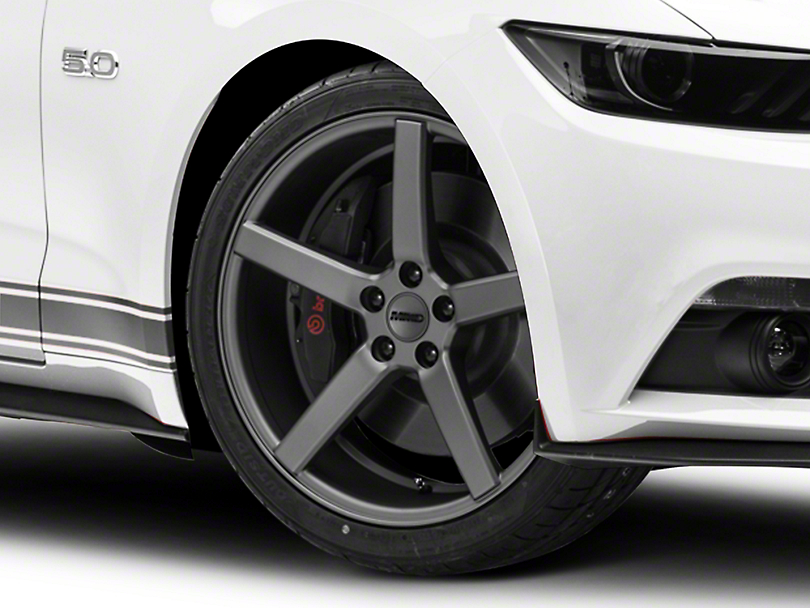 MMD 551C Charcoal Wheel - 20x8.5 (15-17 GT, EcoBoost, V6)