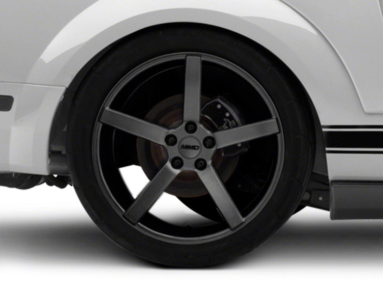 MMD 551C Charcoal Wheel - 20x10 (05-14 All)