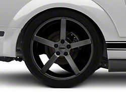 MMD 551C Charcoal Wheel; Rear Only; 20x10 (05-09 All)