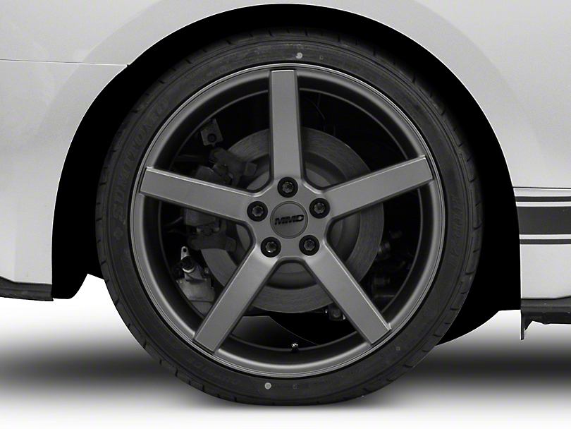 MMD 551C Charcoal Wheel - 20x10 - Rear Only (15-19 GT, EcoBoost, V6)