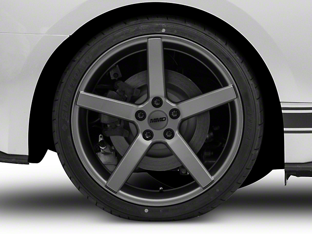 MMD 551C Charcoal Wheel; Rear Only; 20x10 (15-21 GT, EcoBoost, V6)