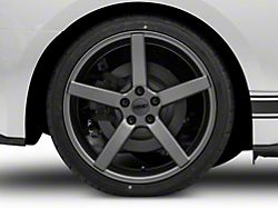 MMD 551C Charcoal Wheel; Rear Only; 20x10 (15-20 GT, EcoBoost, V6)