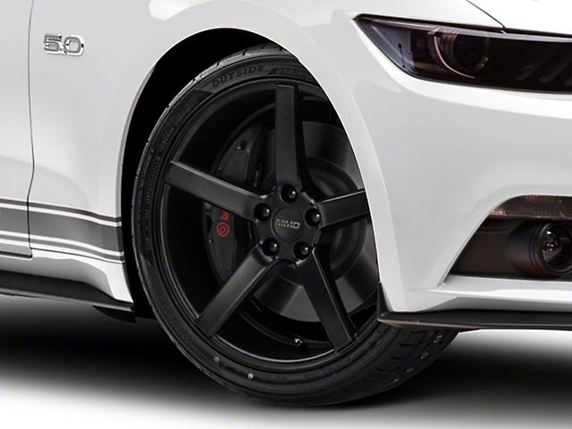 MMD 551C Matte Black Wheel; 20x8.5 (15-21 GT, EcoBoost, V6)