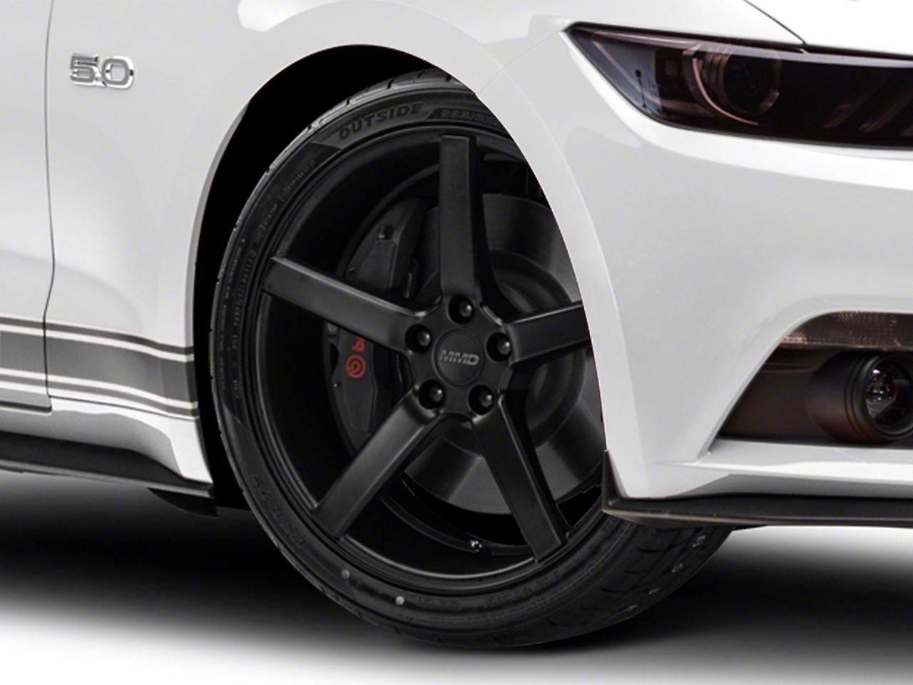 MMD 551C Matte Black Wheel - 20x8.5 (15-18 GT, EcoBoost, V6)
