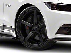 MMD 551C Matte Black Wheel; 20x8.5 (15-20 GT, EcoBoost, V6)
