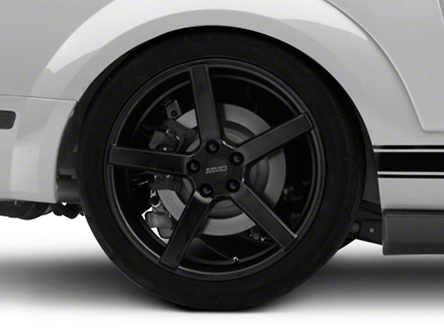MMD 551C Matte Black Wheel - 20x8.5 (05-09 All)