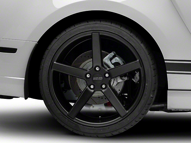 MMD 551C Matte Black Wheel; Rear Only; 20x10 (10-14 All)