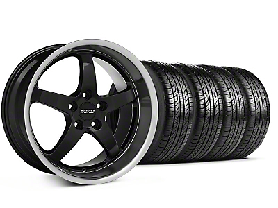MMD Kage Black Wheel & Pirelli Tire Kit - 19x8.5 (05-14 GT, V6)