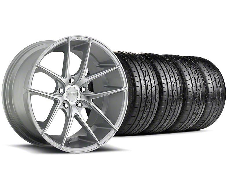 Niche Targa Matte Silver Wheel & Sumitomo Tire Kit - 19x8.5 (05-14 All)