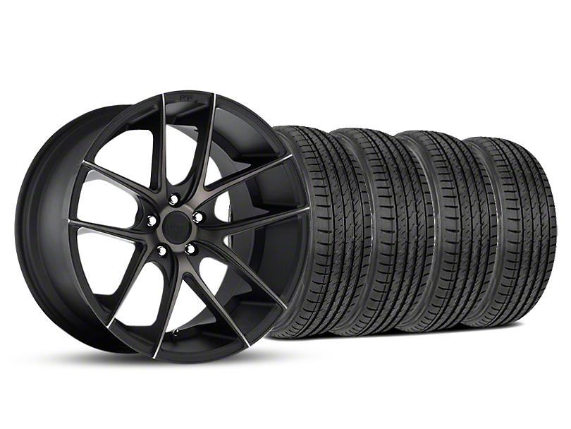 Niche Targa Matte Black Wheel & Sumitomo Maximum Performance HTR Z5 Tire Kit - 19x8.5 (05-14 All)
