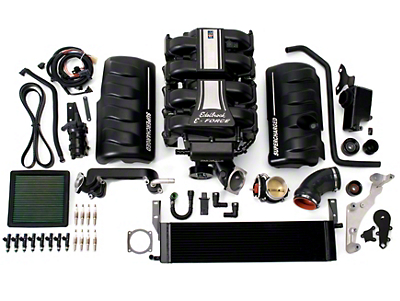 Edelbrock E-Force Stage 1 Street Supercharger Kit w/ Tuner (2010 GT)