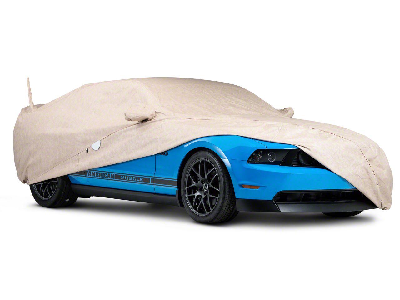 Covercraft Custom Fit Car Cover for Select Austin Healy Models FS44F5 Fleeced Satin Black
