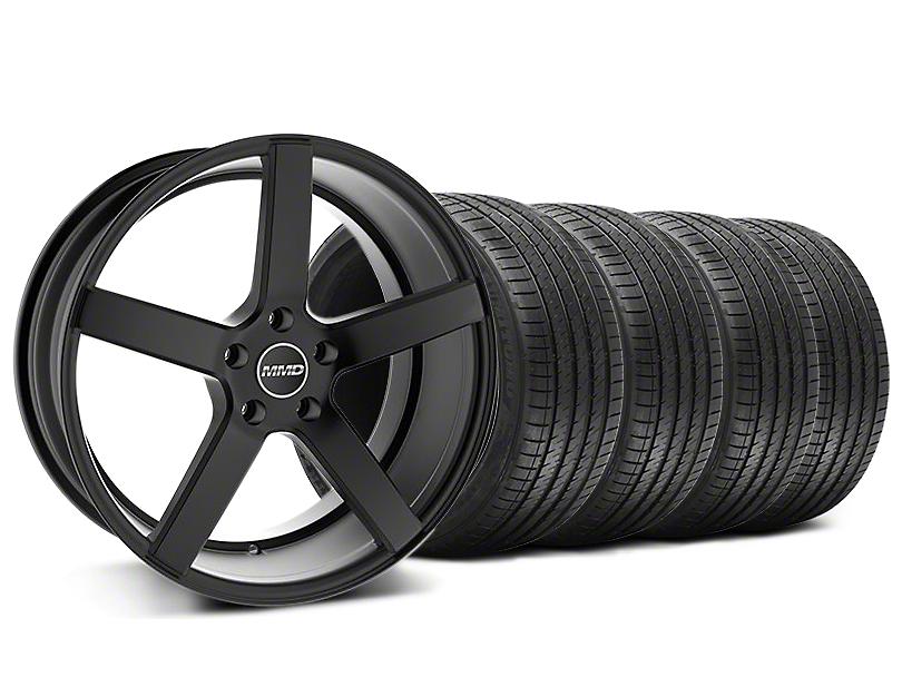 MMD 551C Black Wheel & Sumitomo Maximum Performance HTR Z5 Tire Kit - 20x8.5 (05-14 All)