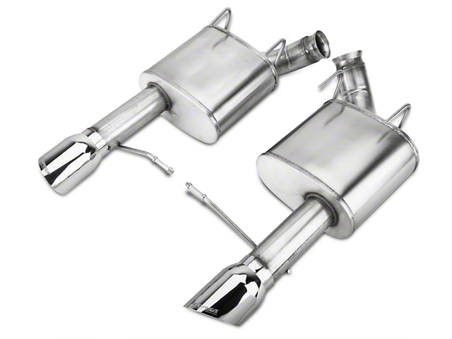 Corsa Xtreme Axle-Back Exhaust with Polished Tips (11-14 GT; 12-13 BOSS 302)