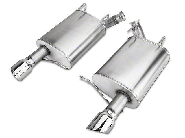 Corsa Sport Axle-Back Exhaust with Polished Tips (11-14 V6)