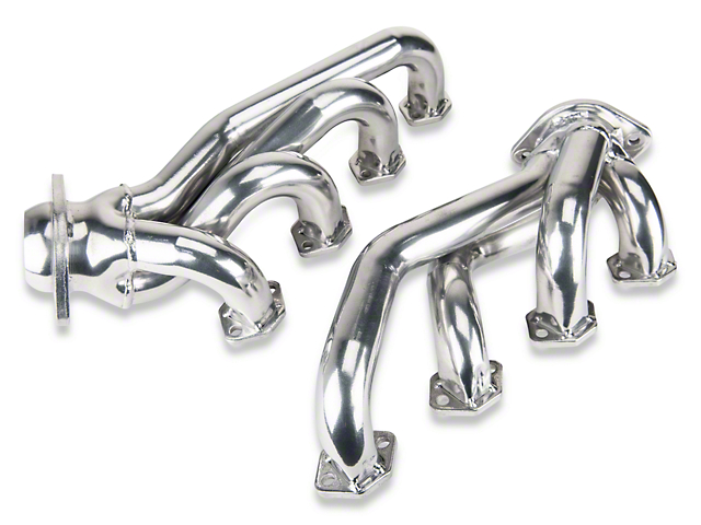 MAC 1-5/8 in. Ceramic Unequal Length Shorty Headers for GT-40P Heads (79-93 5.0L)