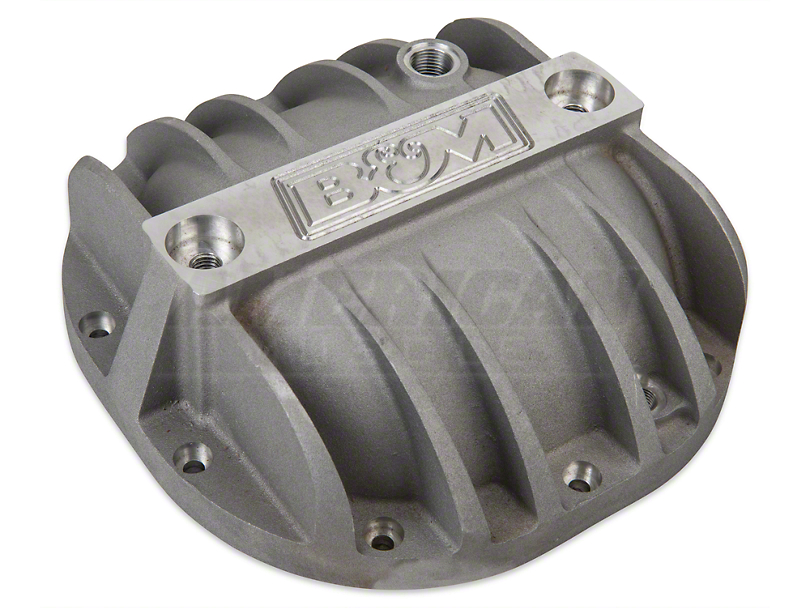 B&M Finned Differential Cover - 8.8 in. (11-14 V6; 86-14 V8, Excluding 03-04 Cobra & 13-14 GT500)