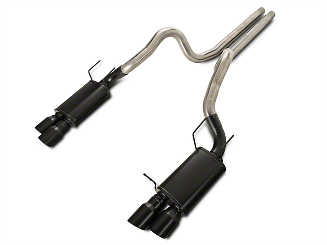 Magnaflow Street Cat-Back Exhaust w/ Black Quad Tips (13-14 GT500)