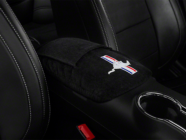 Seat Armour Center Console Cover - Running Pony (05-09 All)