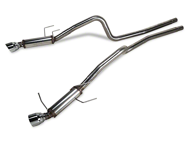 Magnaflow Competition Series Cat-Back Exhaust with 4.50-Inch Tips (13-14 V6)
