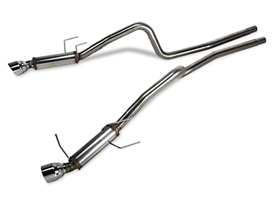 Magnaflow Competition Cat-Back Exhaust - 4.5 in. Tips (13-14 V6)