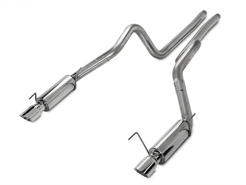 MBRP XP Series Cat-Back Exhaust - Race Version (05-09 GT; 07-10 GT500)