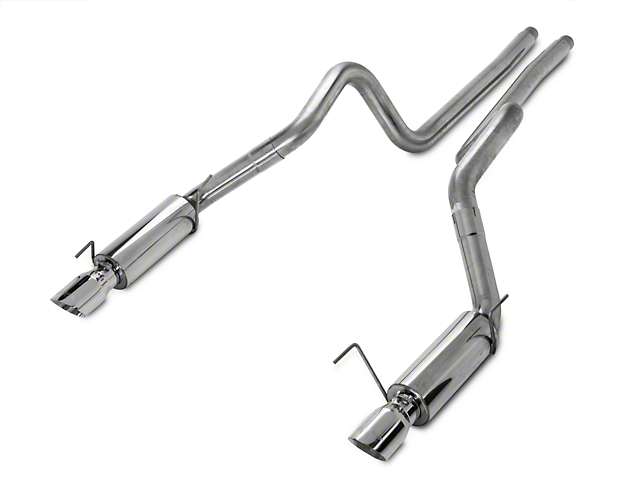 MBRP XP Series Cat-Back Exhaust; Race Version (05-09 GT; 07-10 GT500)