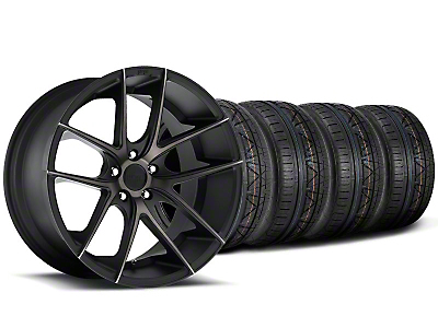 Staggered Niche Targa Black Wheel & NITTO INVO Tire Kit - 20x8.5/10 (05-14 All)