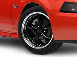 Bullitt Motorsport Black Wheel; 18x9 (99-04 All)