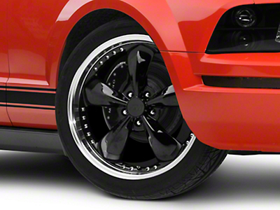 Bullitt Motorsport Black Wheel - 20x8.5 (05-10 GT; 05-14 V6)