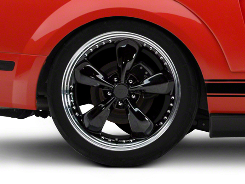 Bullitt Motorsport Black Wheel - 20x10 (05-14 All, Excluding GT500)