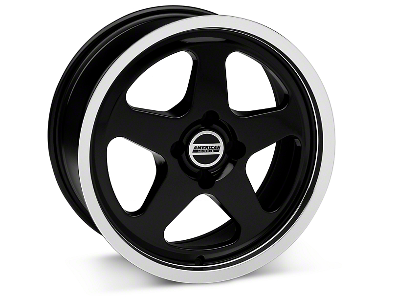 SC Style Black Wheel - 17x8 (87-93 All, Excluding 1993 Cobra)