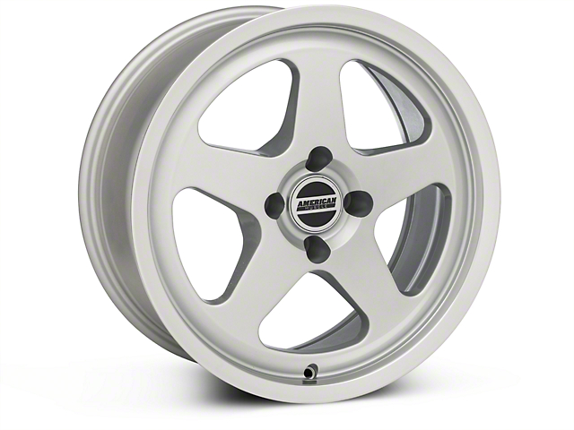 SC Style Silver Wheel; 17x8 (87-93 All, Excluding Cobra)