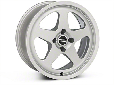 SC Style Silver Wheel - 17x8 (87-93 All, Excluding 1993 Cobra)