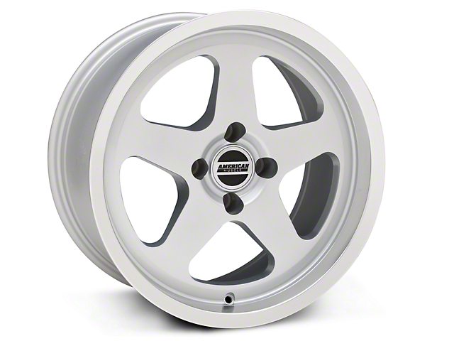 SC Style Silver Wheel; 17x9 (87-93 All, Excluding Cobra)