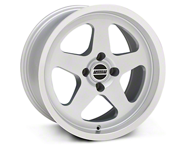 SC Style Silver Wheel - 17x9 (87-93 All, Excluding 1993 Cobra)
