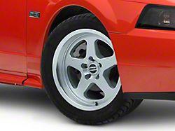 SC Style Silver Wheel; 17x9 (99-04 All)