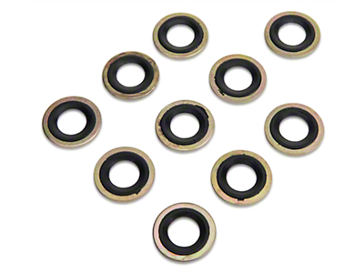 OPR Metal/Rubber Oil Drain Plug Gasket - 10 Pack (79-97 All)
