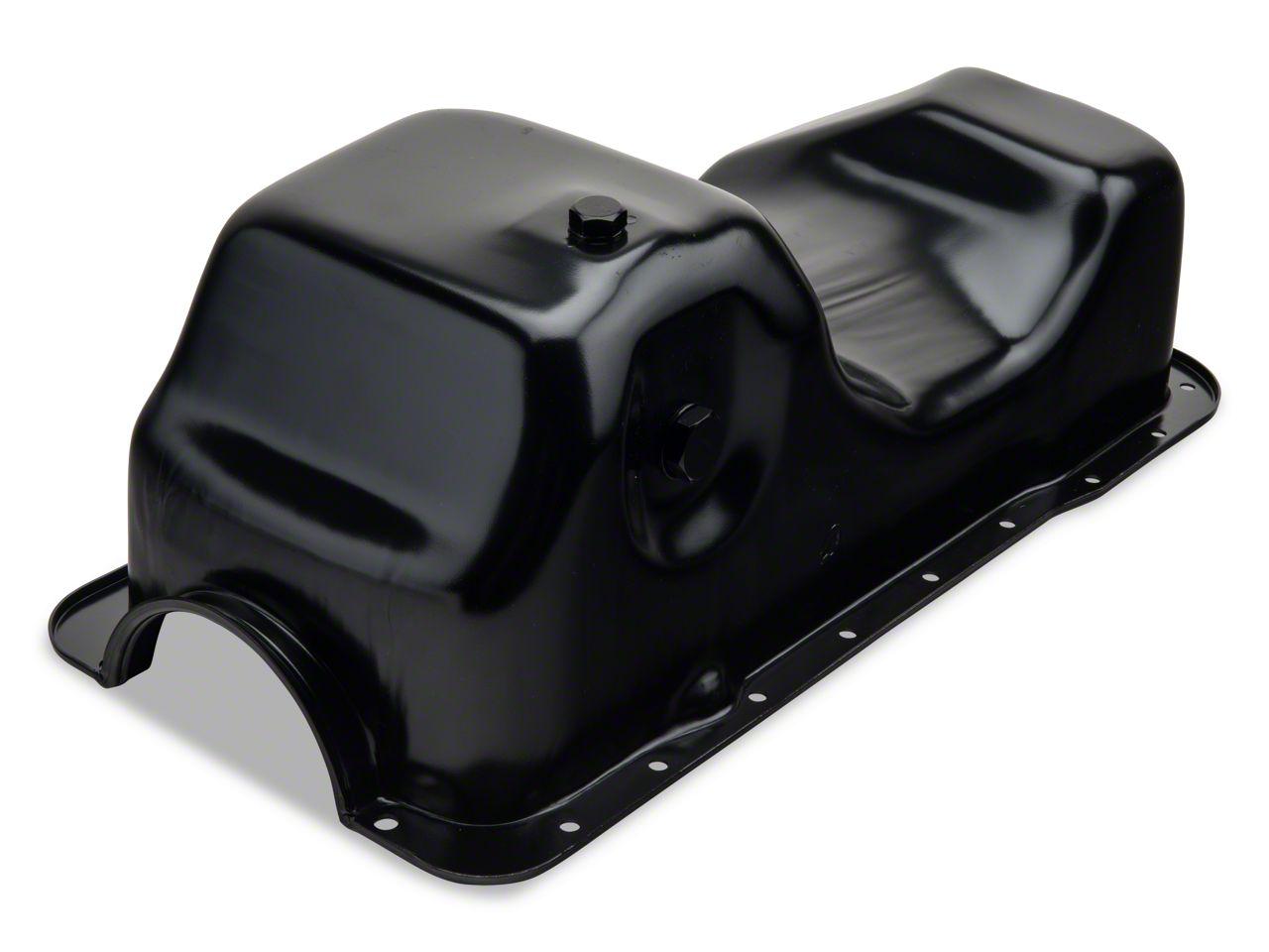 OPR Replacement Oil Pan w/ Low Oil Sensor Port (84-95 5.0L)