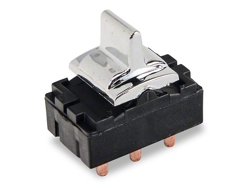 OPR Power Window Switch; Chrome (79-86 All)