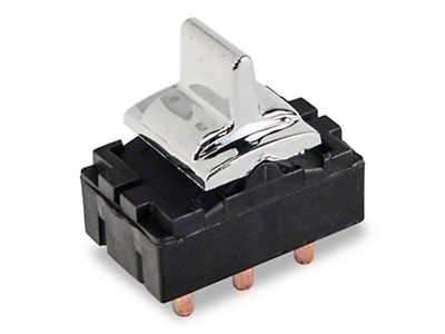 OPR Power Window Switch - Chrome (79-86 All)