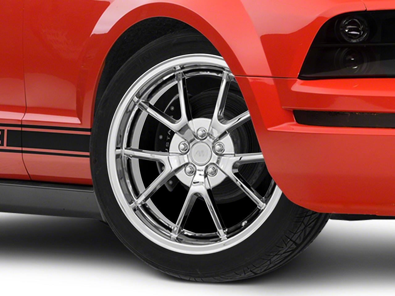 FR500 Style Chrome Wheel - 20x8.5 (05-14 All)