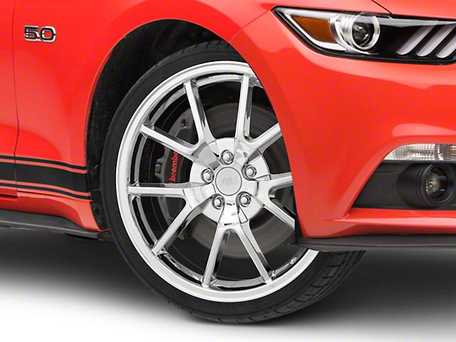 FR500 Style Chrome Wheel - 20x8.5 (15-19 GT, EcoBoost, V6)