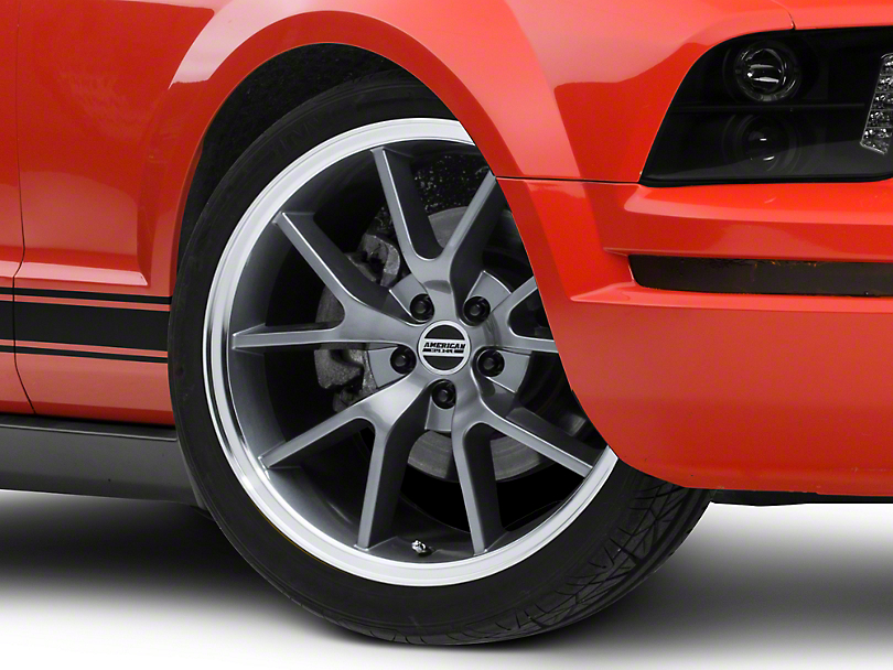 FR500 Style Anthracite Wheel - 20x8.5 (05-14 All)