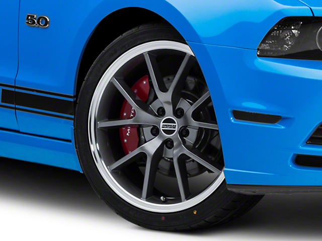 FR500 Style Anthracite Wheel; 20x8.5 (10-14 All)