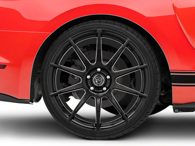 Forgestar CF10 Monoblock Piano Black Wheel - 20x11 (15-17 All)