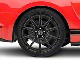 Forgestar CF10 Monoblock Piano Black Wheel; Rear Only; 20x11 (15-21 GT, EcoBoost, V6)