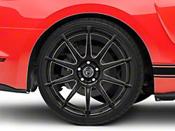 Forgestar CF10 Monoblock Piano Black Wheel - 20x11 - Rear Only (15-19 GT, EcoBoost, V6)